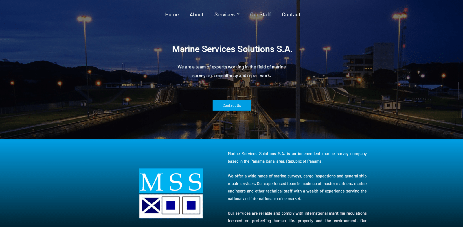 Marine Services Solutions