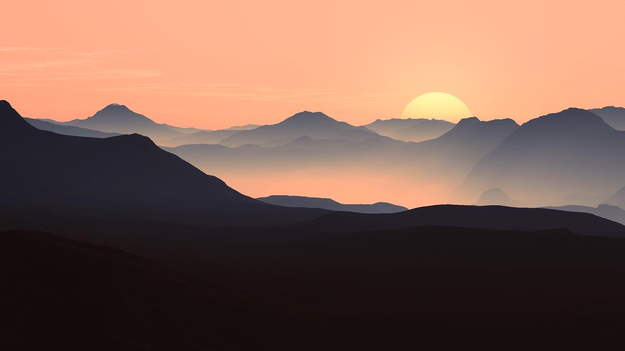 mountains, landscape, sunset-55067.jpg